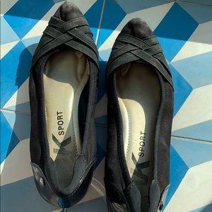 AK Sport Dress Black Shoes